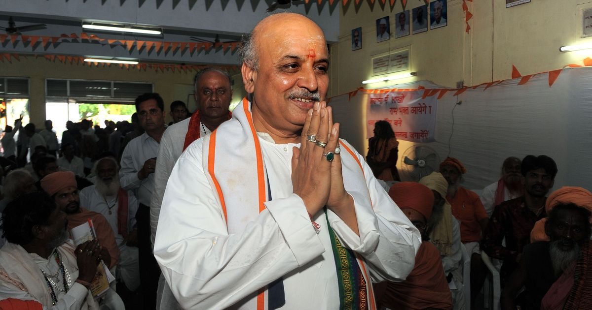 'Missing' Togadia found unconscious in Ahmedabad