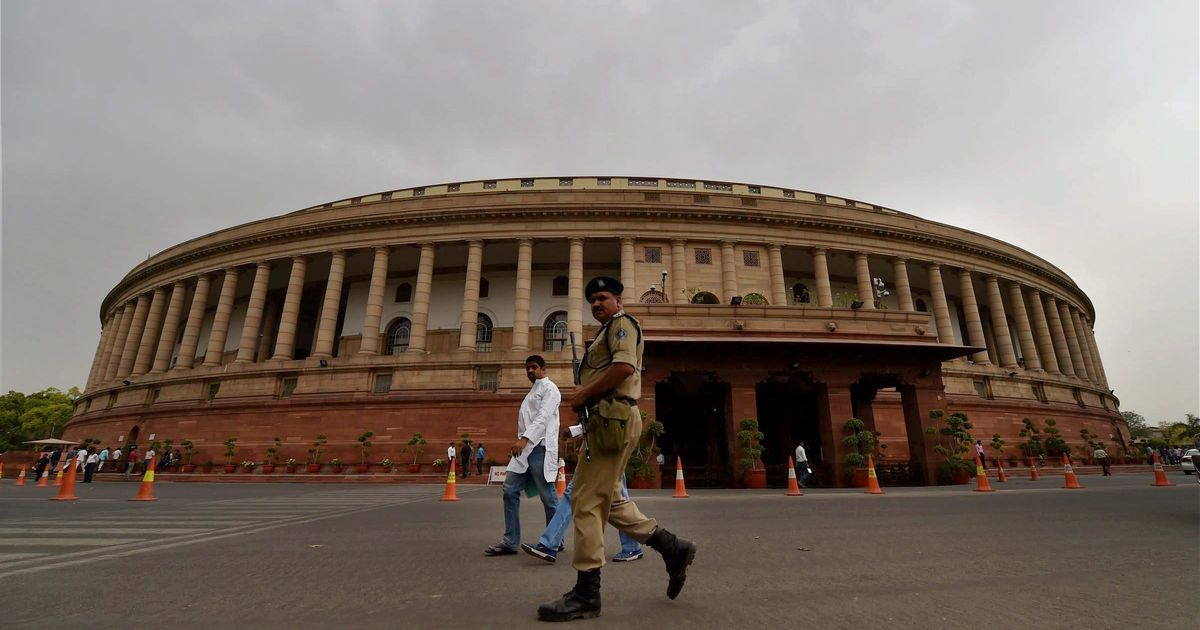 On last day of Budget Session, Parliament is adjourned indefinitely within the first hour