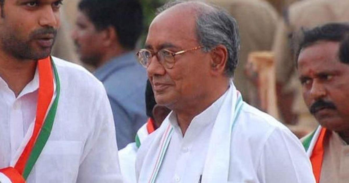 Cops file criminal case against Digvijay for 'Police radicalising Muslim youth' tweet