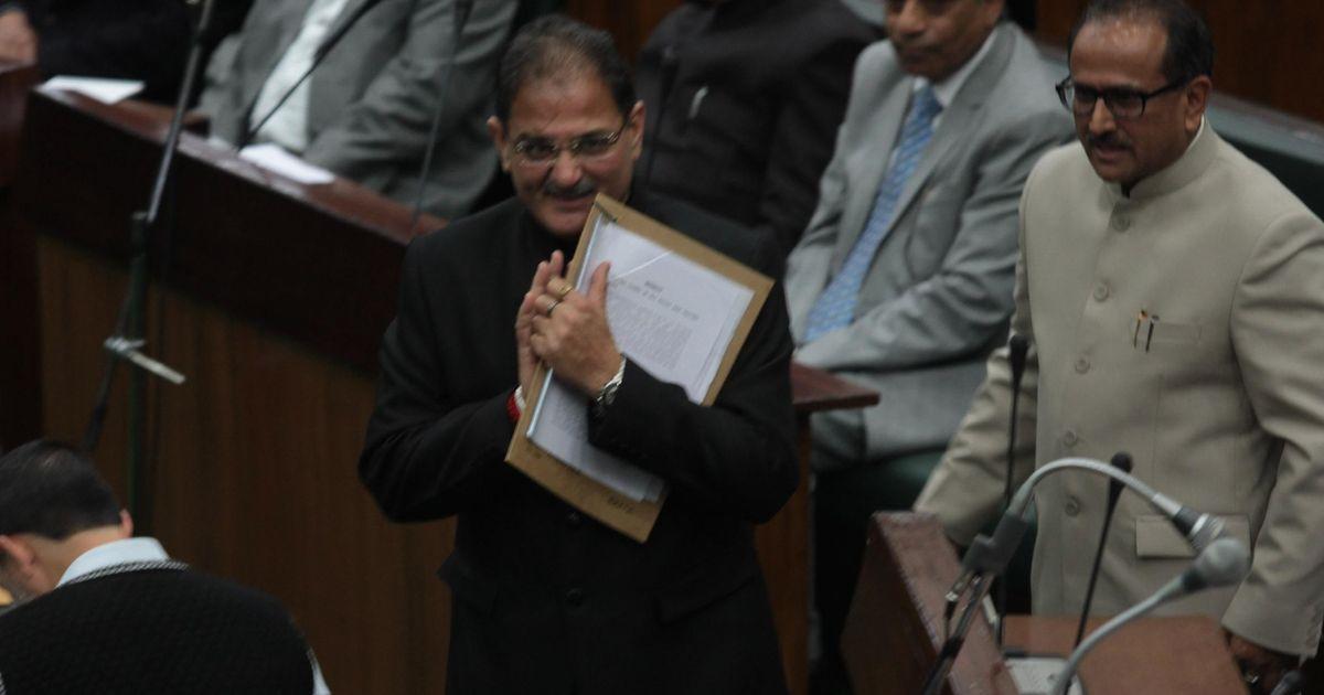 J&K deputy CM Nirmal Singh resigns ahead of Monday's Cabinet reshuffle