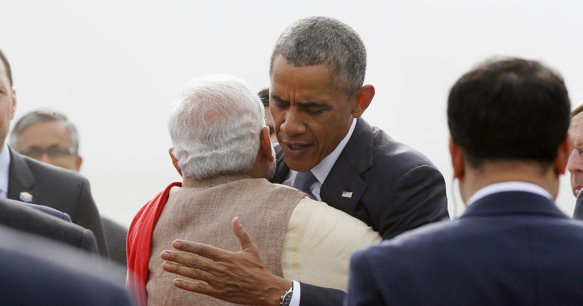 Thank you for helping strengthen India-US relations, Barack Obama tells Narendra Modi