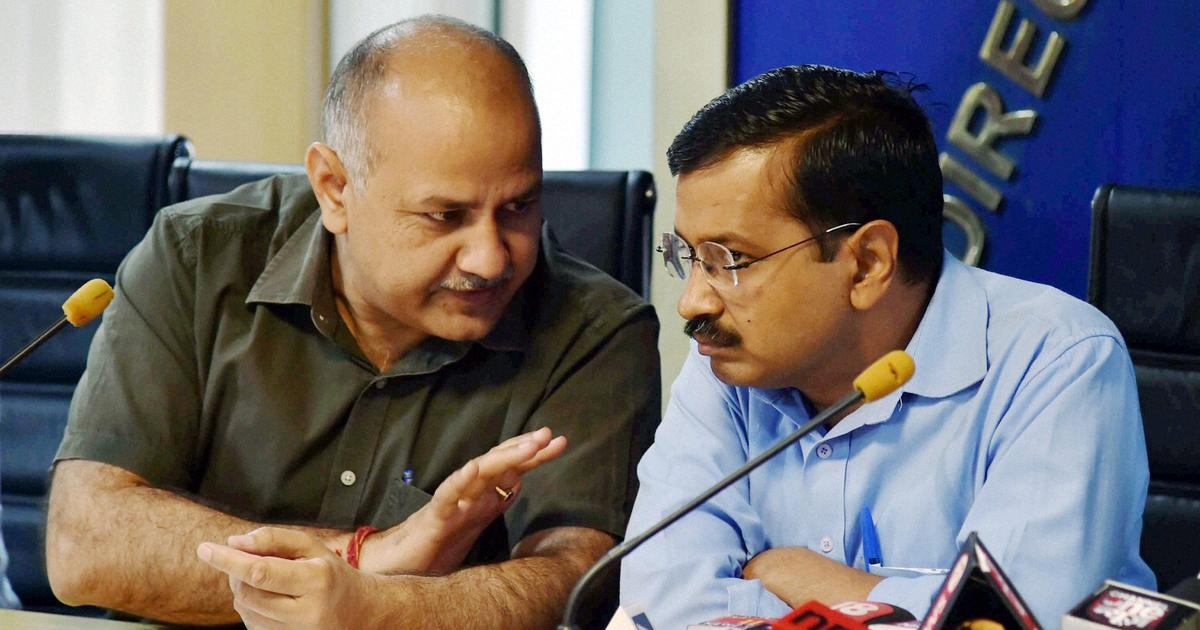 Sisodia slams LG for setting up panel for CCTV installation