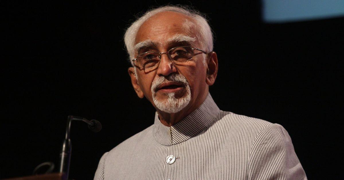 Hamid Ansari questions then central government's handling of 2002 Gujarat riots