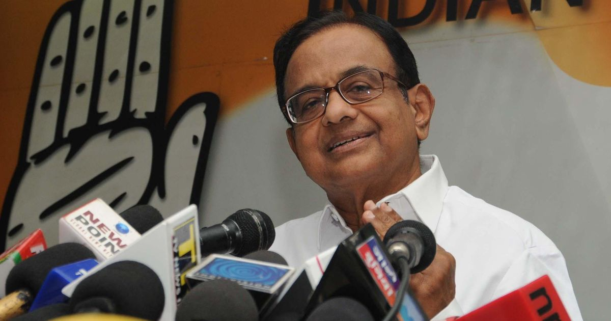 Congress vindicated by GST rate cuts: P Chidambaram