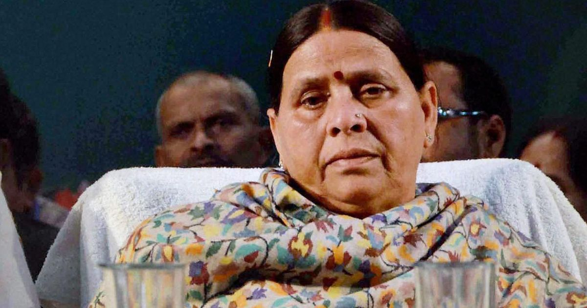 CBI records Rabri Devi's statement in Railway hotels' contract case