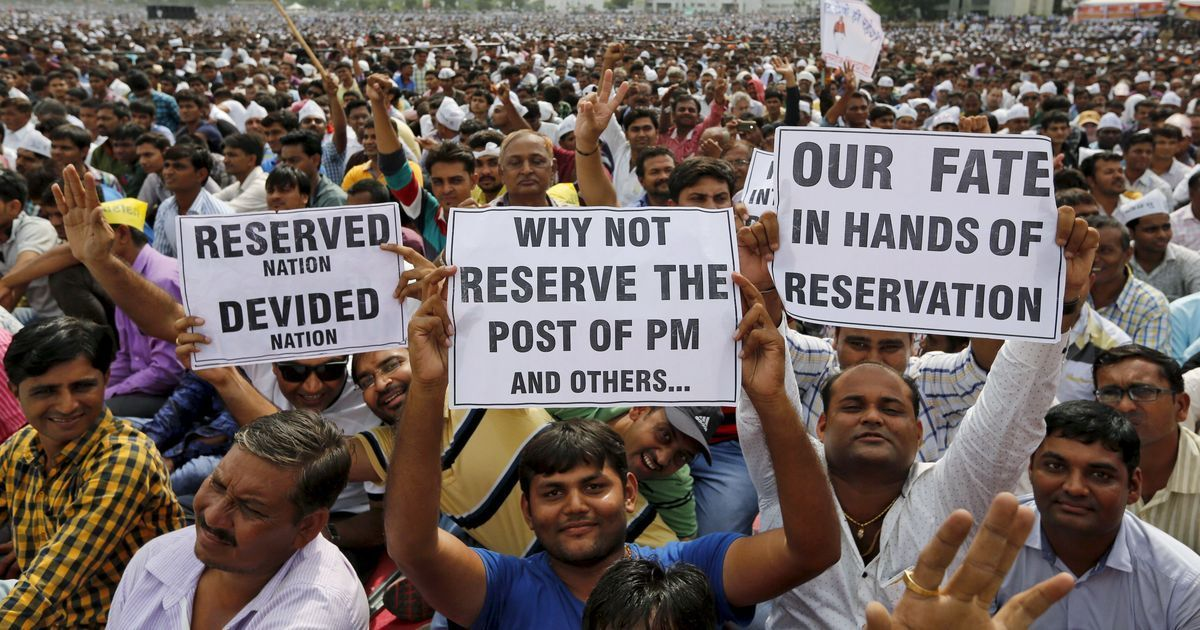 What justifies an arbitrary 50% cap on reservations – when upper caste numbers are much smaller?