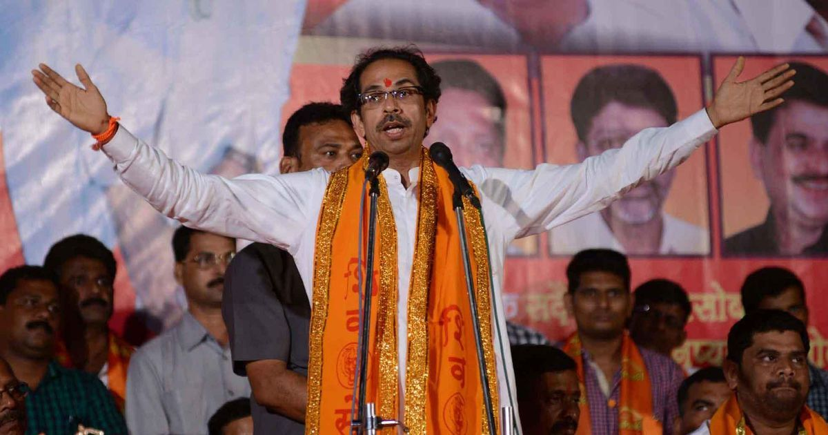 Shiv Sena flays its ally, praises Congress for 'shaking up Gujarat model'