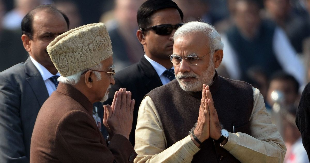 Opinion: Does Hamid Ansari need freedom to speak or is it Narendra Modi who craves it?