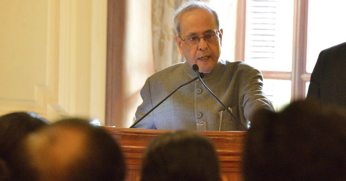 EVM 'tampering' row: Pranab Mukherjee says onus is on EC to ensure institutional integrity