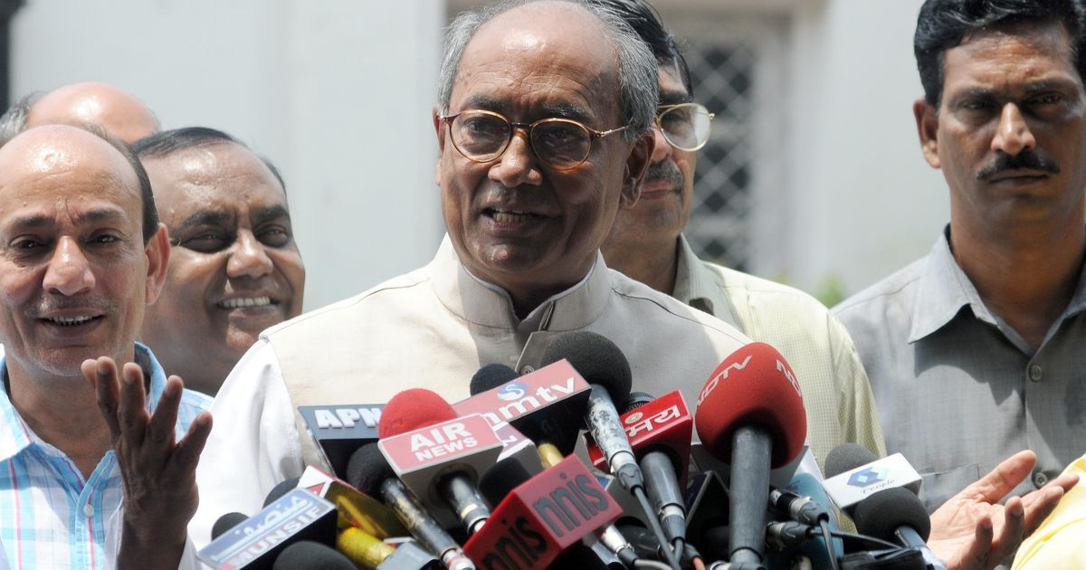 Why the Congress has clipped Digvijaya Singh's wings – but not grounded him totally