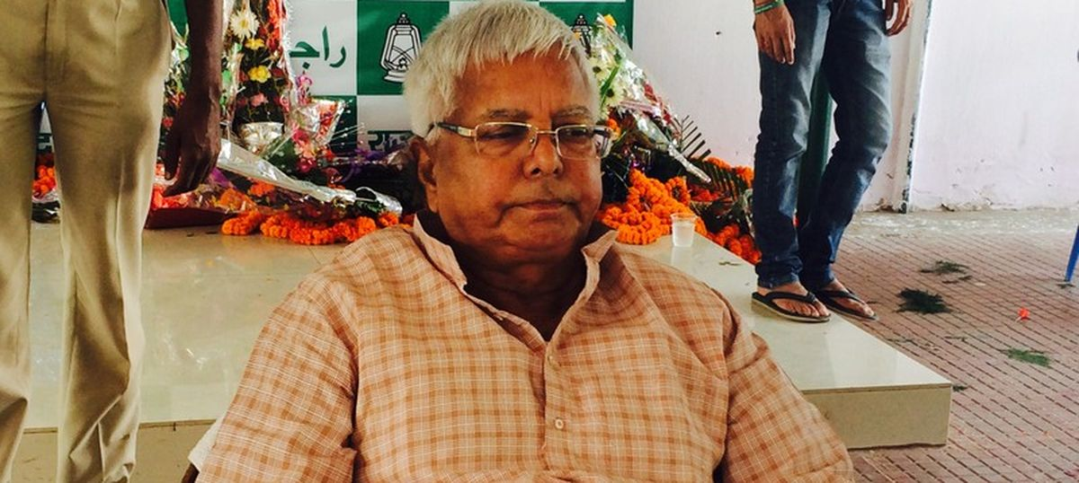 Lalu Prasad Yadav tells Bihar flood victims to feel 'fortunate to find the Ganga at their doorsteps'