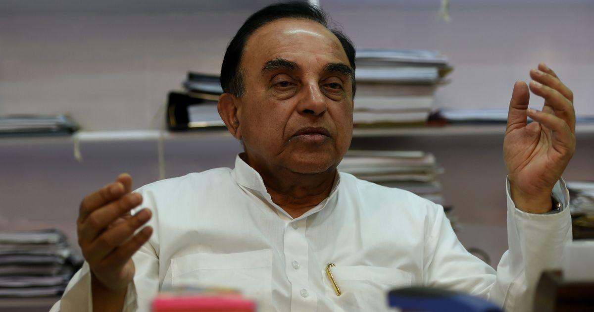 सुप्रीम कोर्ट के जजों की शिकायत पर प्रधानमंत्री को दखल देना चाहिए : सुब्रमण्यम स्वामी