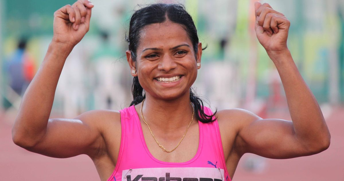 Watch: Dutee Chand clocks 11.29s to set new national record in women's 100m