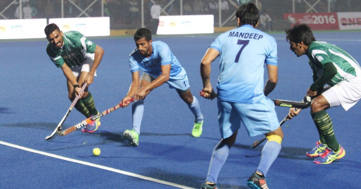 India maul Pak 7-1 in Hockey World League Semi-Final