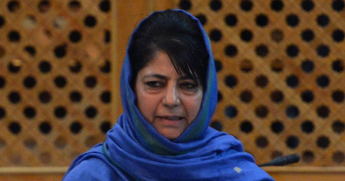 कश्मीर में हिंसा रोकने और शांति बहाली के लिए पाकिस्तान से बातचीत करनी ही होगी : महबूबा मुफ्ती