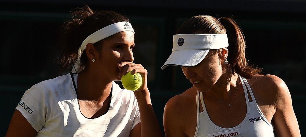 Wimbledon: Sania Mirza and Martina Hingis cruise into quarter-finals, Rohan Bopanna crashes out