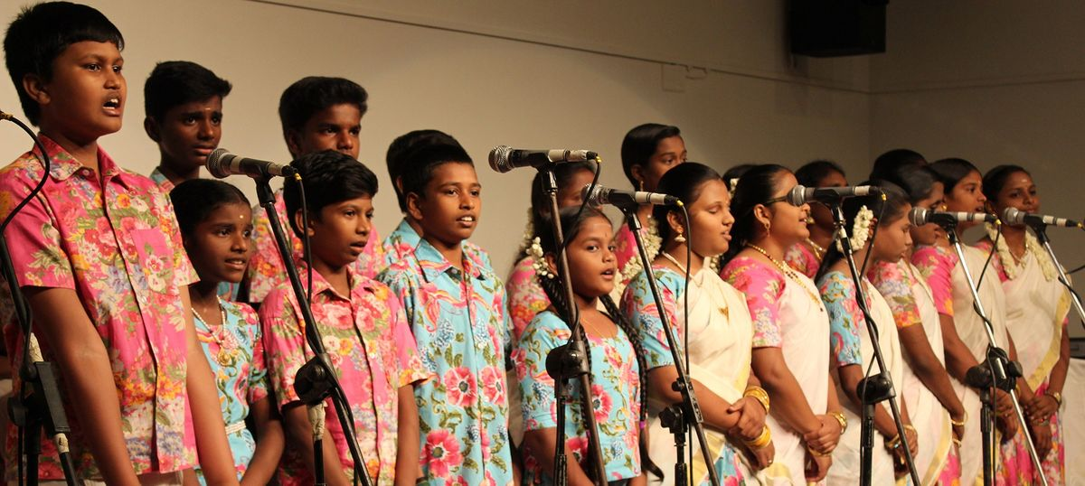 A children's choir taps into genius of AR Rahman and Ilaiyaraaja to create world-class music