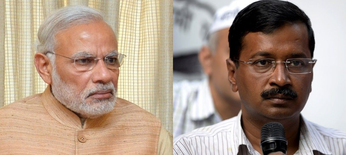 Chief Minister Arvind Kejriwal asks PM Modi to intervene to prevent a water crisis in Delhi
