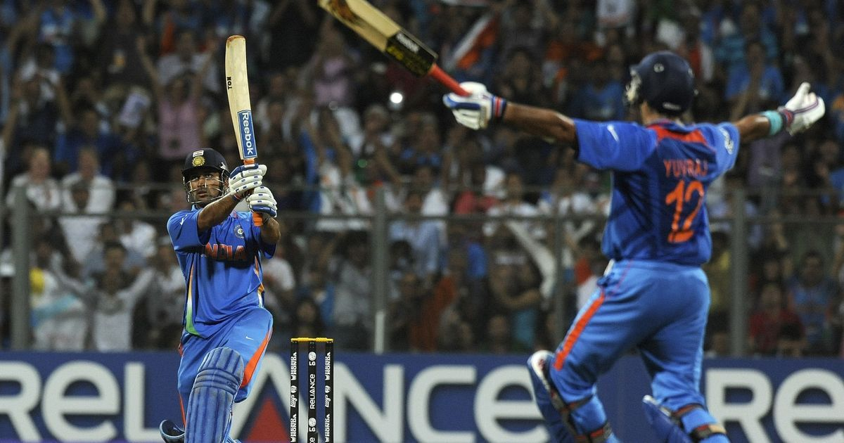 Watch: Do you remember the drama before the six, when India won the World Cup on home soil?