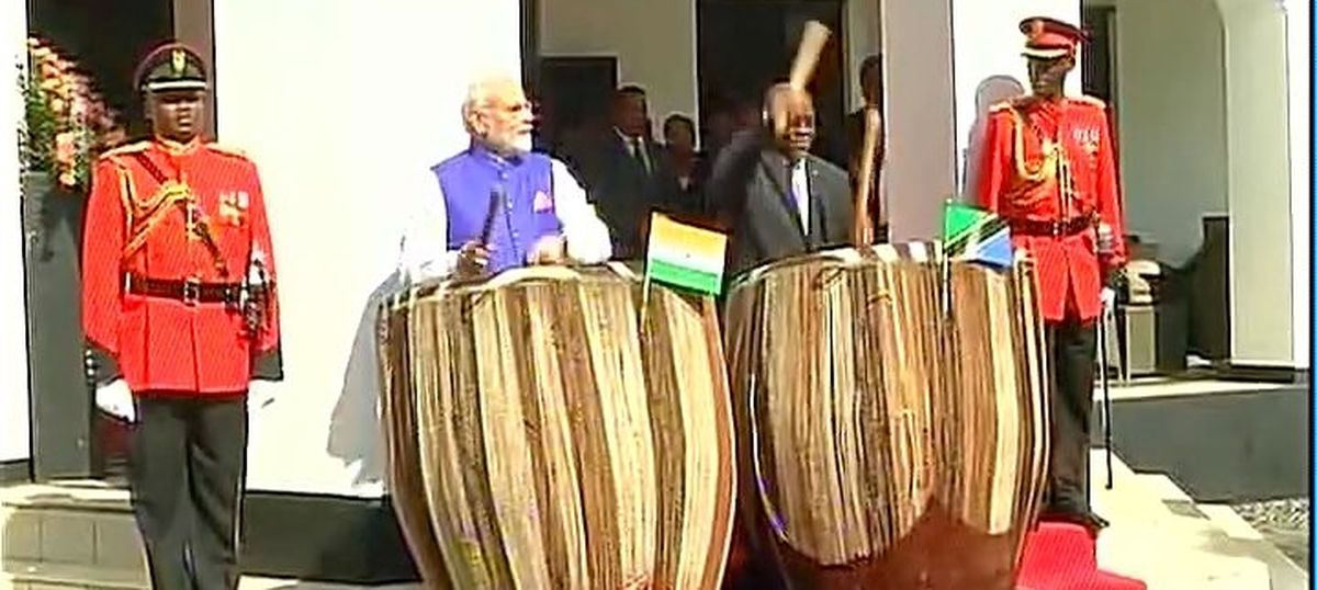 From clothes to train rides: Modi's Africa trip provides fodder for Twitter humour