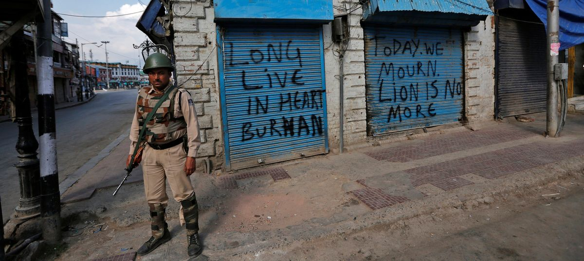 Curfew brought back in parts of Kashmir