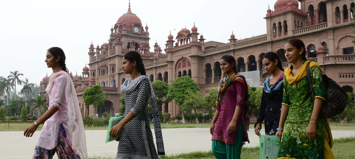 More Indian women are going to college, but fewer are working