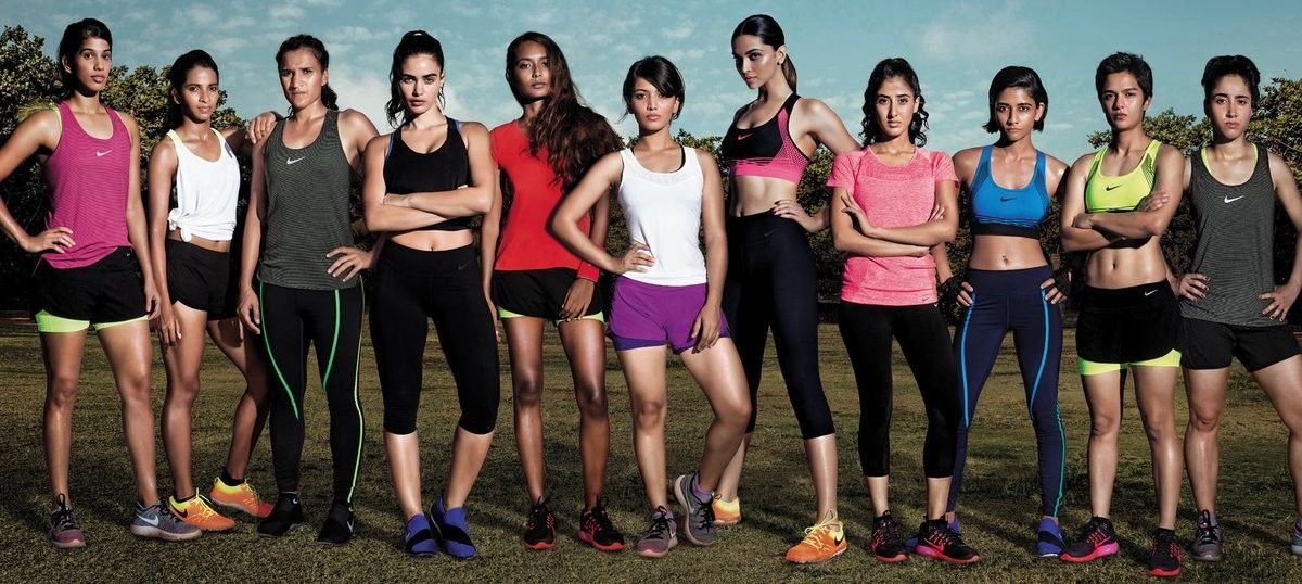 hot sale online fb5c8 740df We re all raving about the Nike ad, but not all the sportswomen in it are  named Deepika Padukone