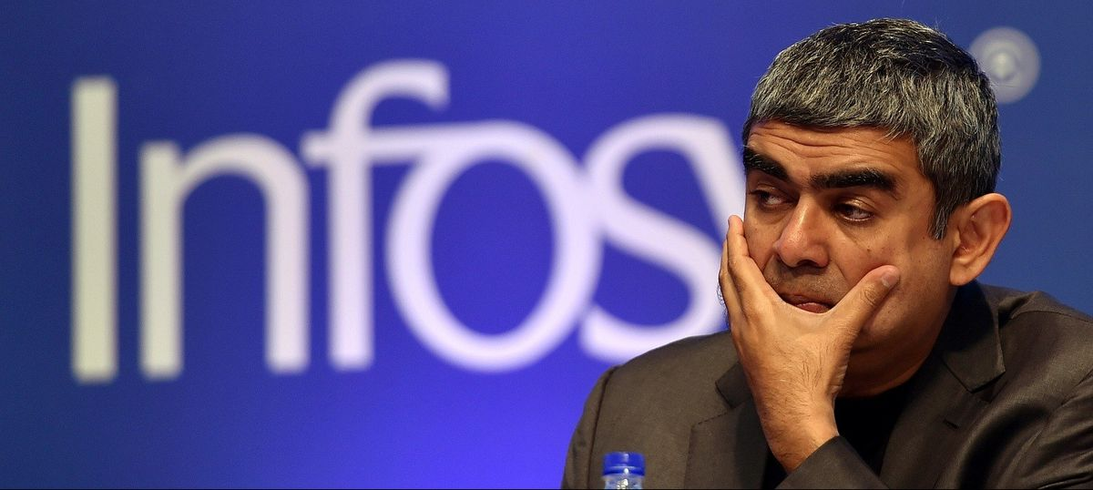Infosys' net profit drops 2.8%, but will return Rs 13,000 crore to shareholders