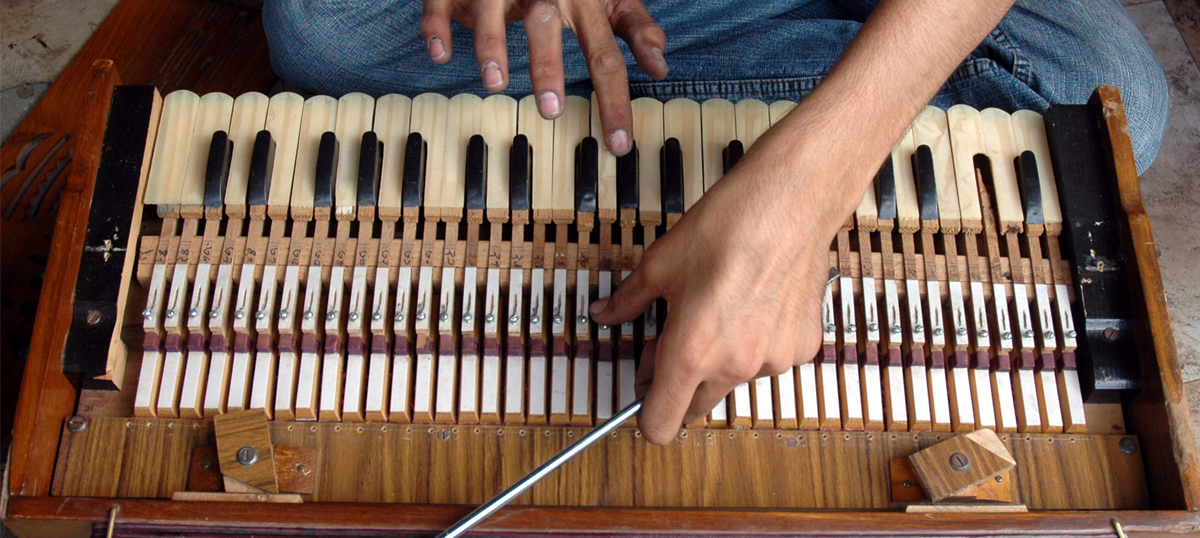 The harmonium was born in Europe – so how did it become