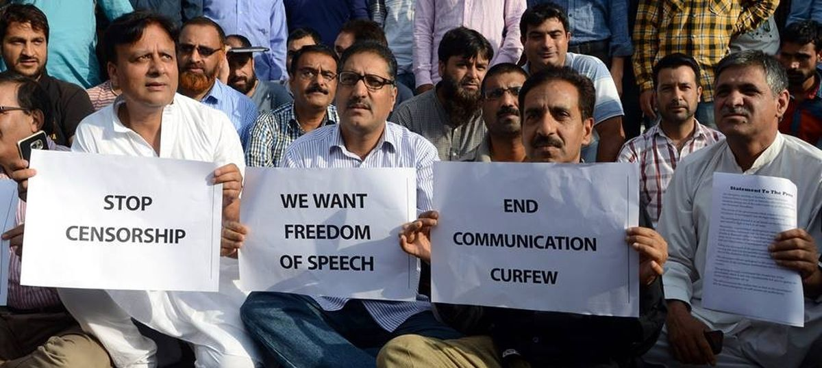 Newspaper editors in Kashmir condemn media gag in state, call it an 'attack on the freedom of press'