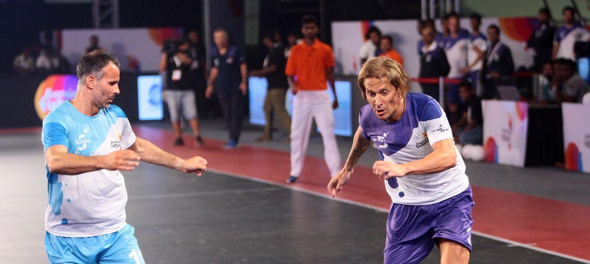 Premier Futsal second season: Ryan Giggs, Ronaldinho keen to get the ball rolling
