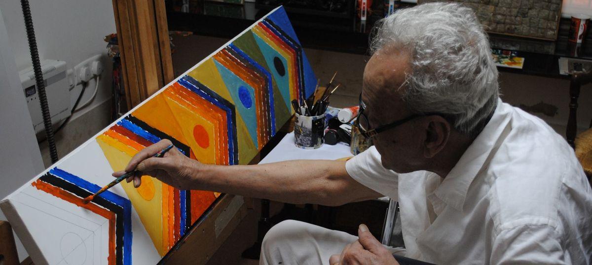 सैयद हैदर रज़ा : जिनसे अधिक मददगार भारतीय कलाकार, शायद हुआ ही नहीं