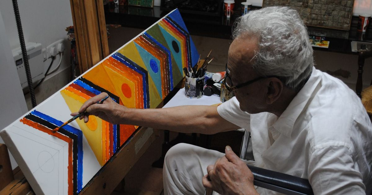 A new book on painter Sayed Haider Raza's love letters provides a template for Indian masculinity