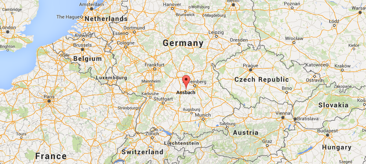 At least 12 injured in Germany blast, police suspect attacker was
