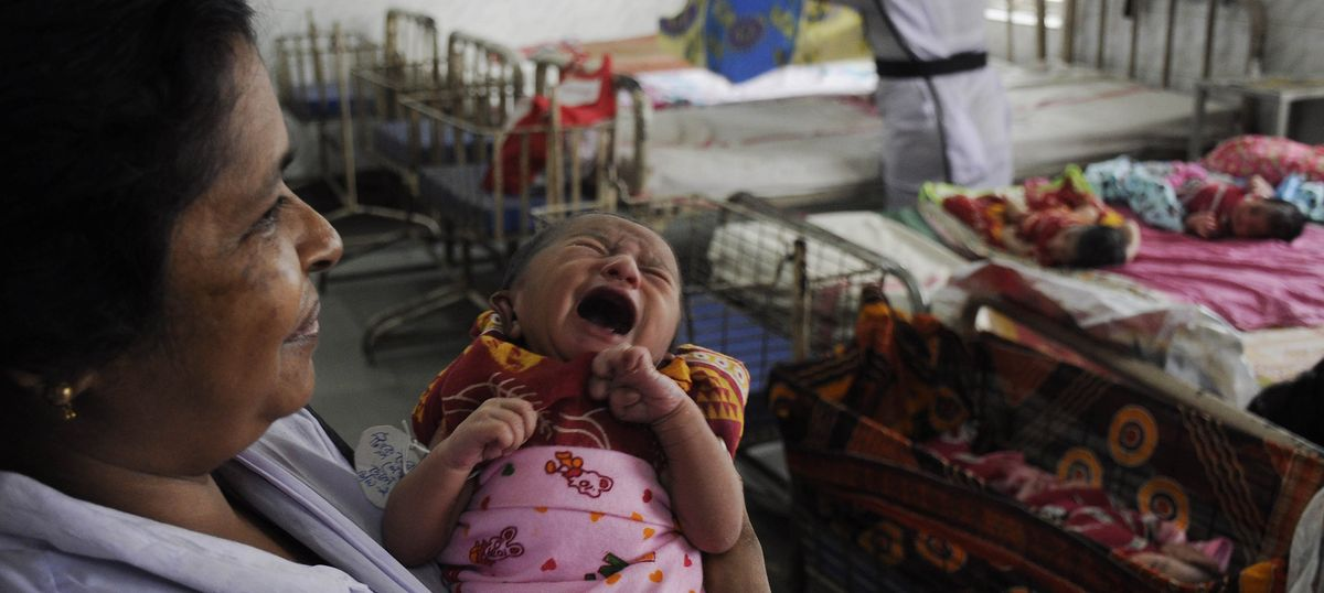 Mothers, babies in peril: 343 hospitals in 6 states struggle with hygiene, toilets