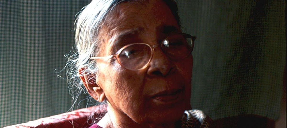 Mahasweta Devi (1926-2016) was a fighter all her life, through her books and through her activism