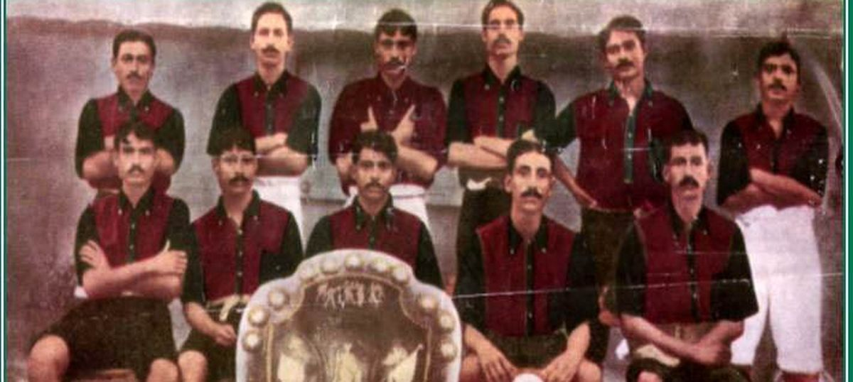 a7597eea6 Remember this date in 1911  when Mohun Bagan beat a British football team  to become national icons
