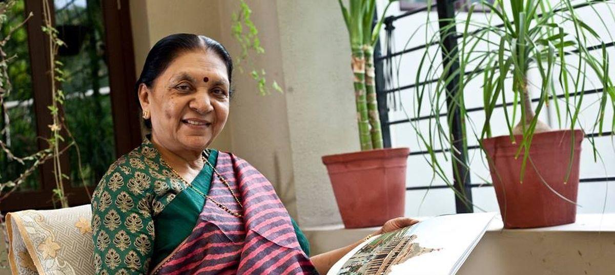 Anandiben Patel named governor of Madhya Pradesh