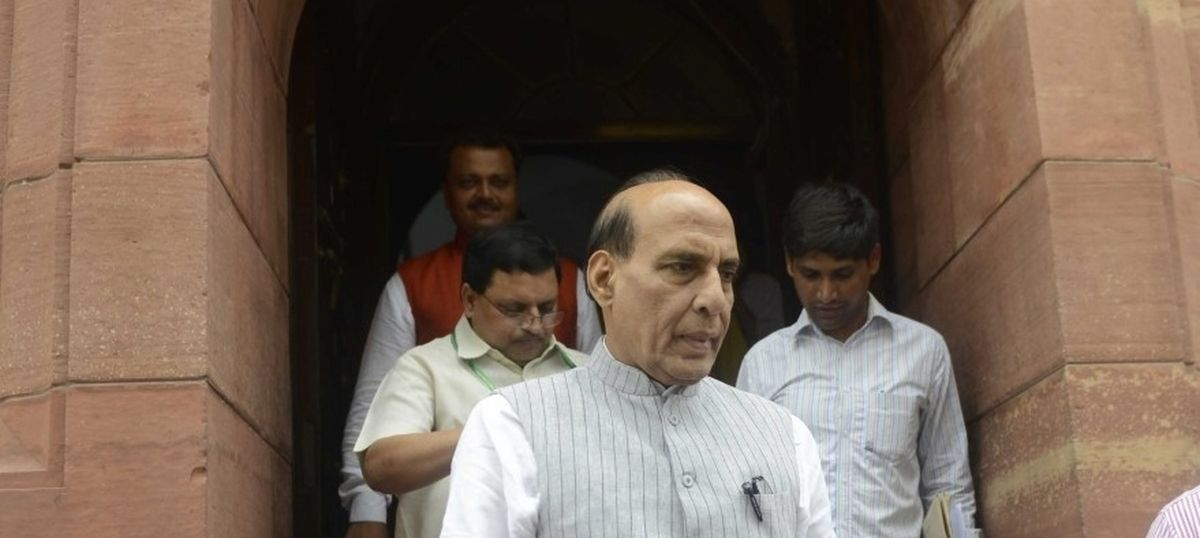 Indian officials dismiss reports of Rajnath Singh's speech in Pakistan being 'blacked out'