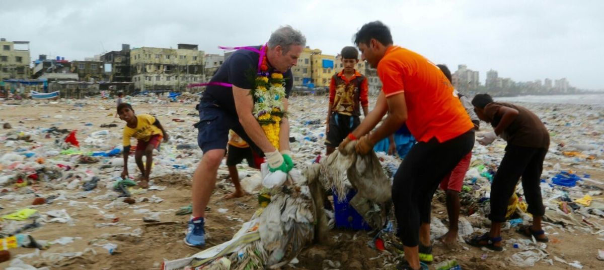 I wouldn't enter the sea off Mumbai – it's too dirty, says champion who has swum in all five oceans