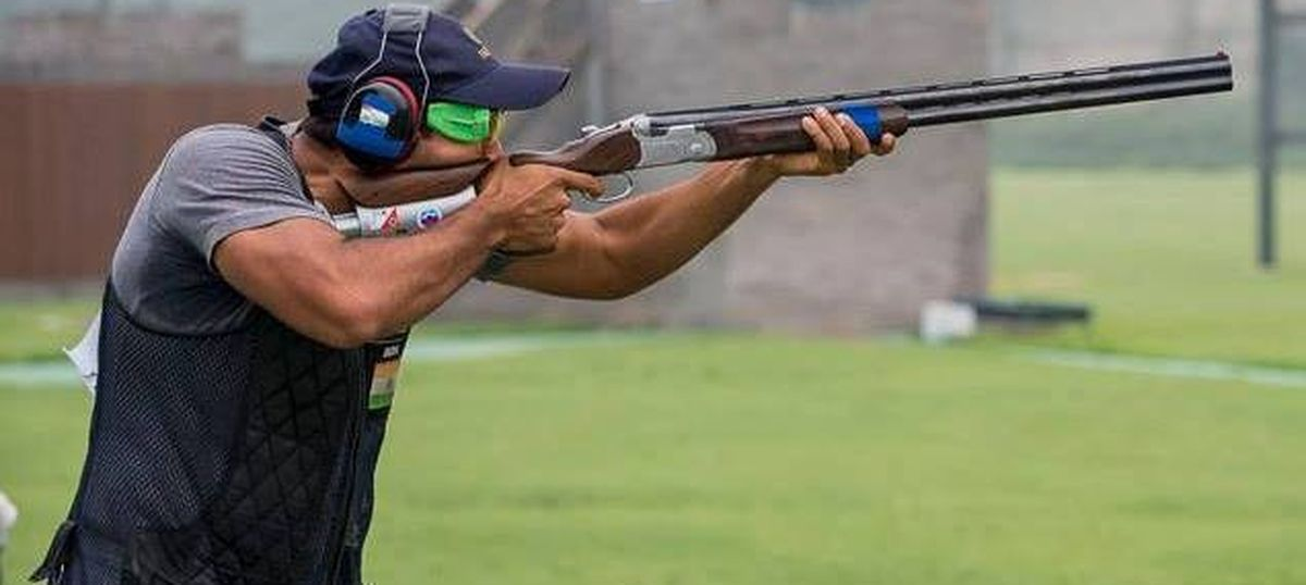 ISSF Shotgun World Cup: Kynan Chenai and Prithviraj lead men's trap qualification after two rounds