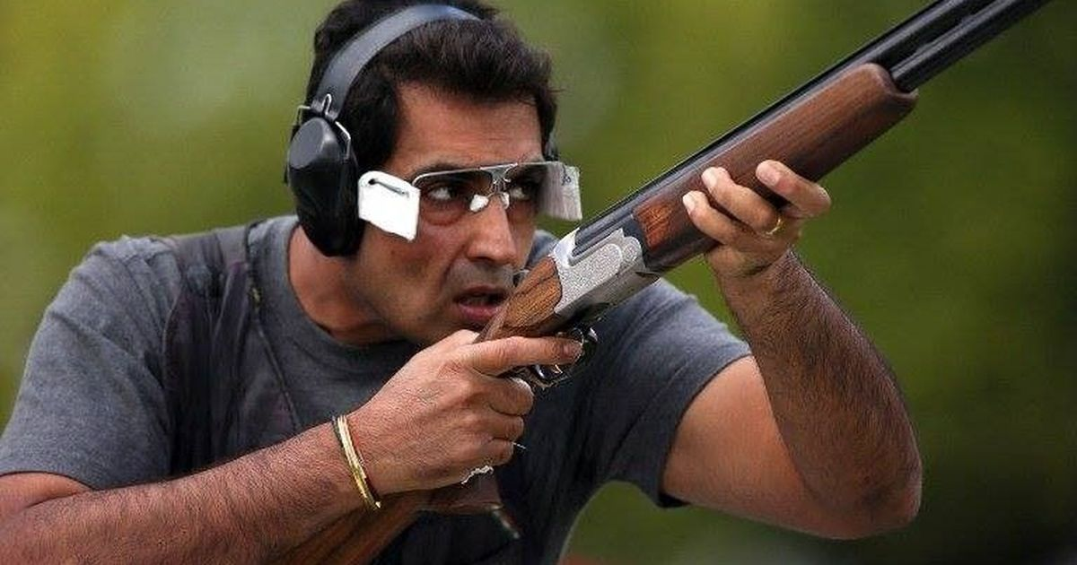 Former world champion Manavjit Singh Sandhu defends national men's trap shooting title