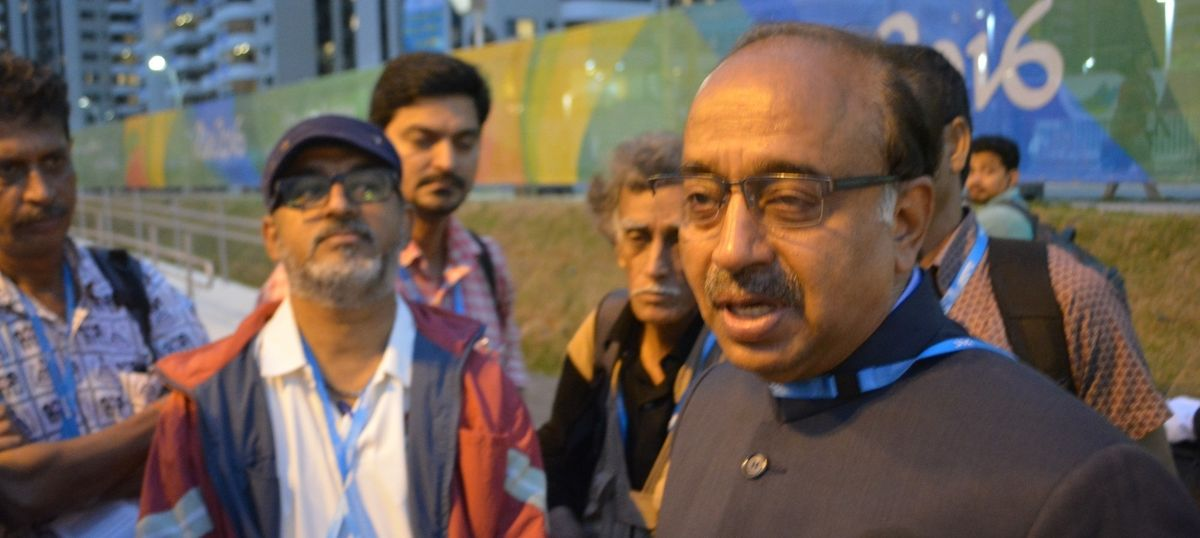 'Vijay Goel has failed in his responsibility as sports minister,' says former IOA president