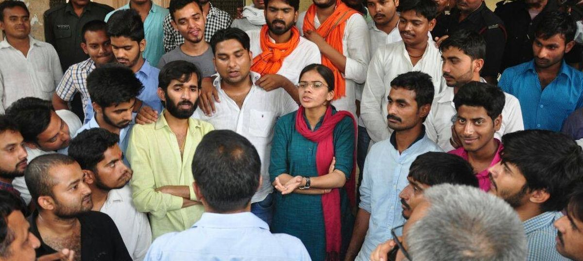 Student leaders are reduced to pawns in Uttar Pradesh politics