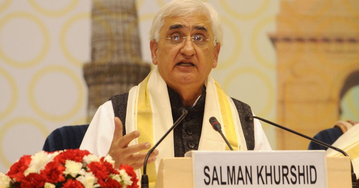 कांग्रेस के दामन पर खून के धब्बे हैं : सलमान खुर्शीद