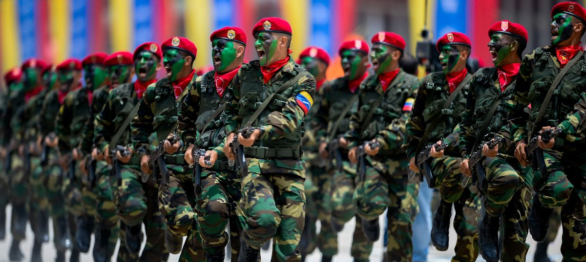 It's not just about Maduro – Venezuela's army has been getting stronger since Hugo Chávez's days