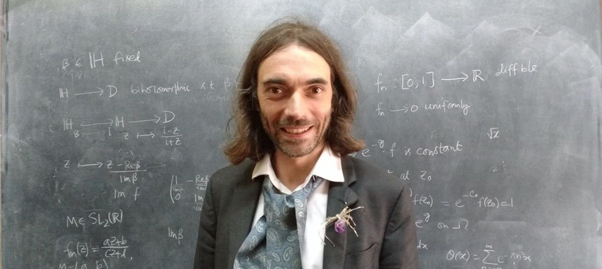Meet the 'Lady Gaga' of the maths world, Cédric Villani