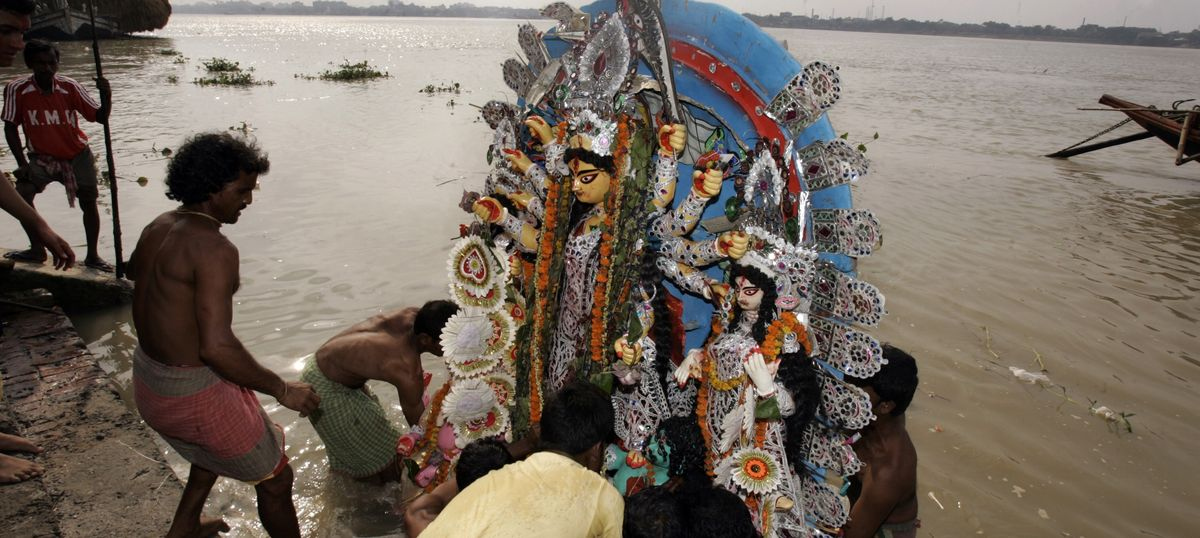 West Bengal appeasing minorities by setting time limit on Durga immersion ahead of Moharram: HC