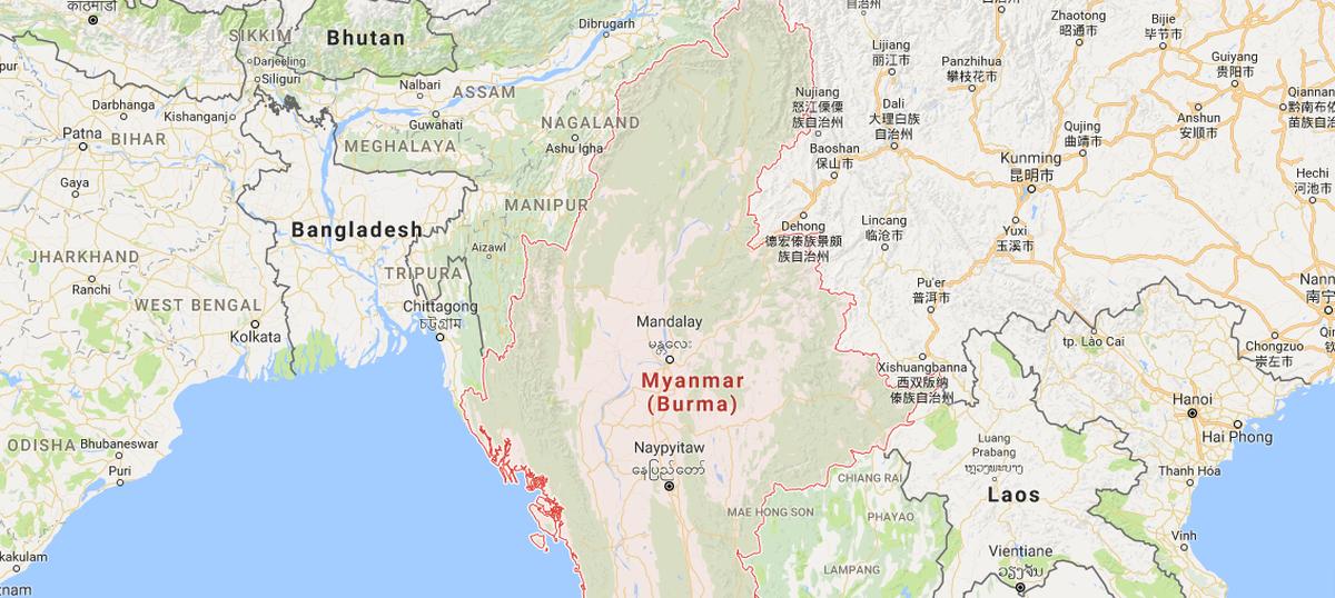 6.8-magnitude earthquake strikes Myanmar, tremors felt in West Bengal, Bihar and Assam