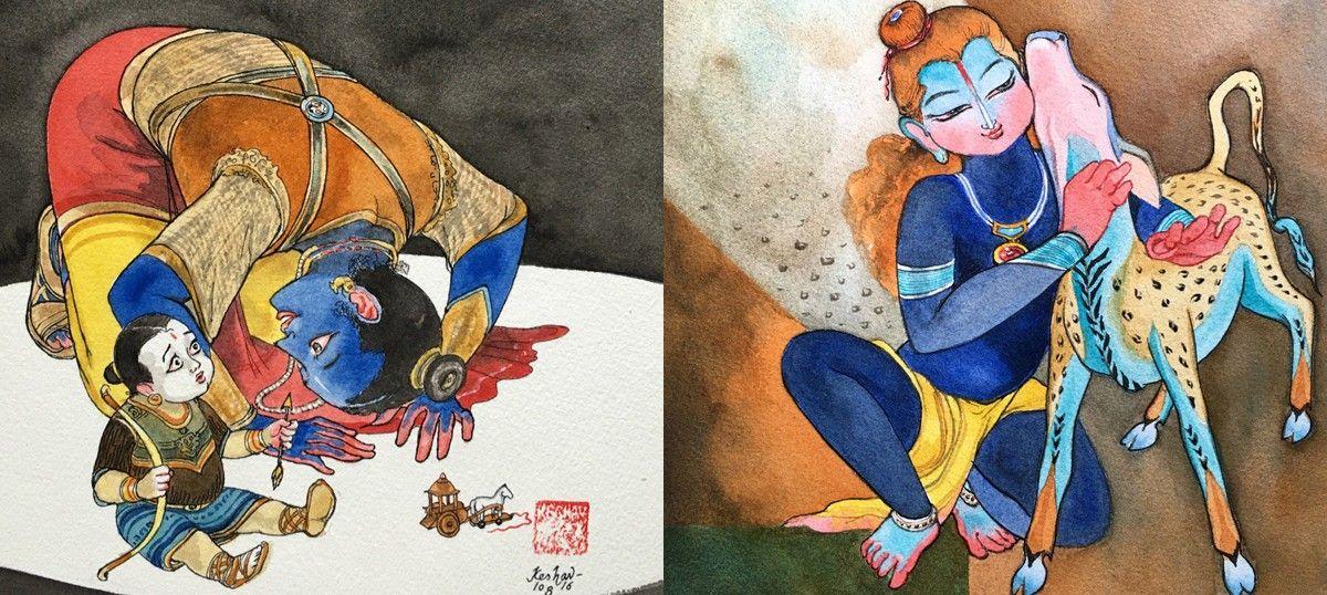 On Janmashtami Social Media Is Full Of Praise For This Artist S
